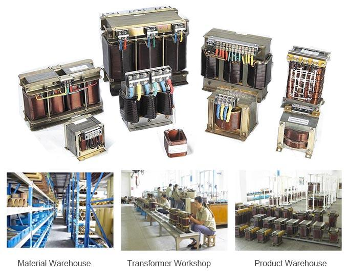 Outdoor Low Voltage Dry Type Transformer , Single Phase K-Factor