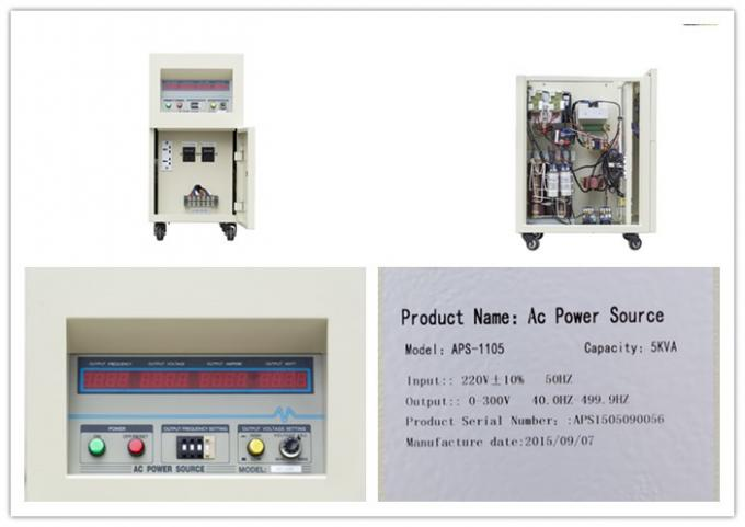 AC Power Source Variable Voltage Variable Frequency Converter 5KVA