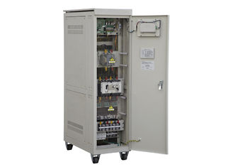 China 380V IP20 100 KVA SBW Three Phase Voltage Regulator For Air Conditioner supplier