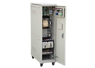 China Industrial Servo Controlled AC Power Stabilizer 300 KVA SBW For Elevator supplier