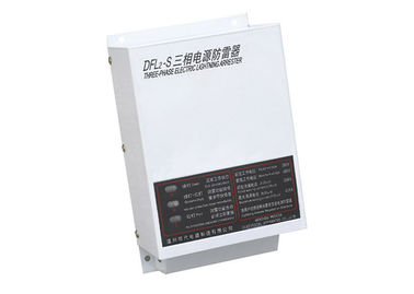China 20KA 380V / 400V Current Lightning Protection Box 3 Phase For Buildings / Telephone supplier