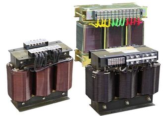 China 400Hz 1-1000KVA Three Phase Buck And Boost Transformer K-Factor Transformers supplier
