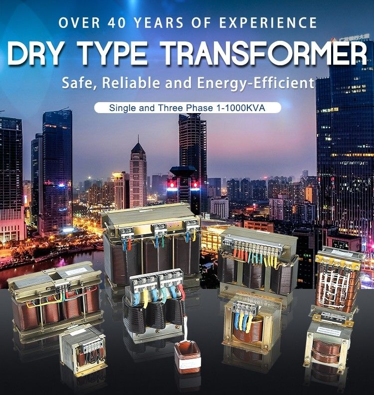 Single And Three Phase Dry Type Transformer 1-1000kva Copper Alumnium supplier