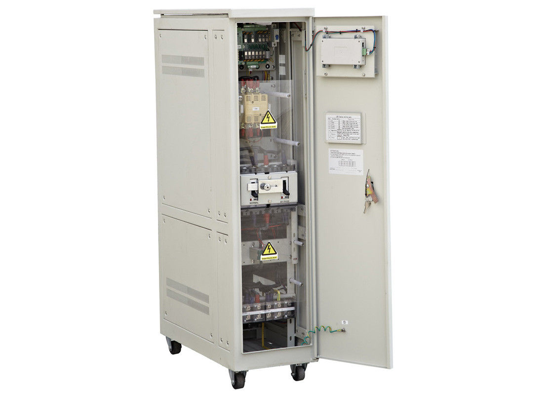 Single Phase 100 KVA Servo Controlled Voltage Stabilizer Whole House ...