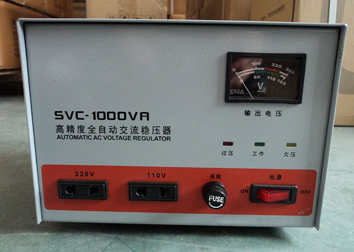110V / 220V SVC 1 KVA Industrial Voltage Stabilizer AVR