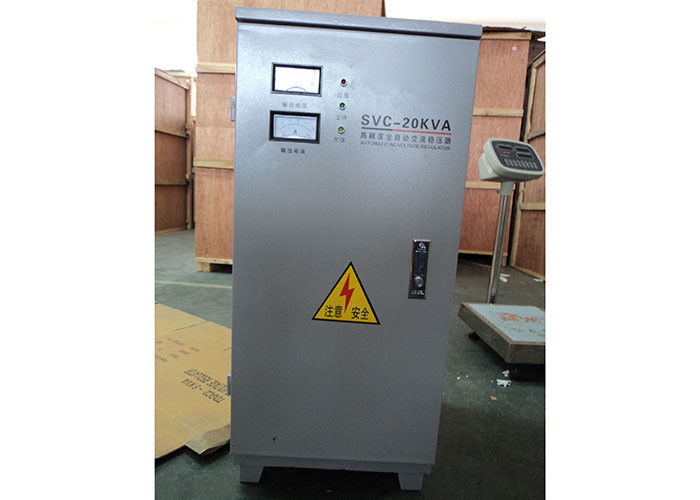 20KVA SVC IP20 Indoor Single Phase AC Power Stabilizer 110V / 220V 50Hz / 60Hz supplier