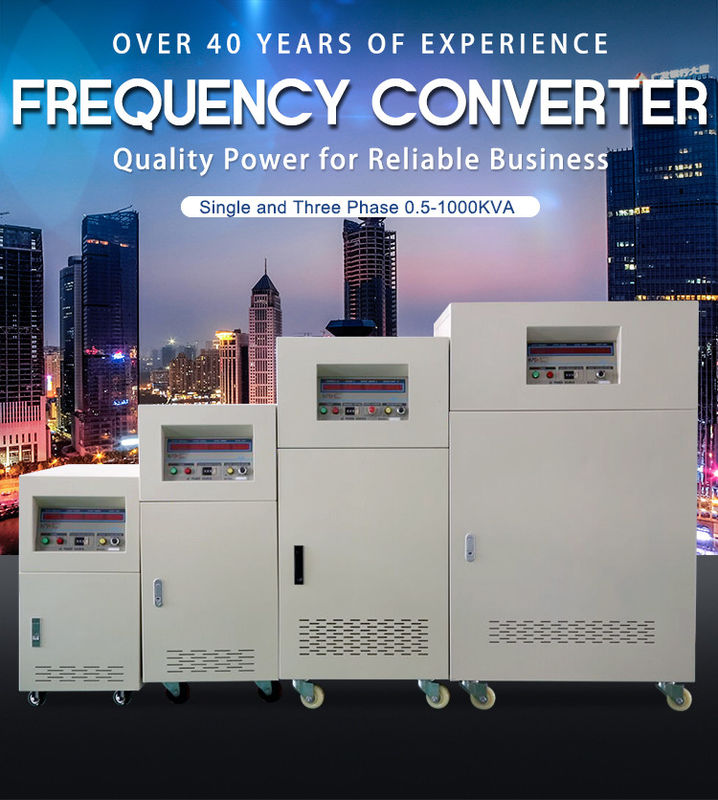 BP 3 Phase Input Ac Frequency Converter 3 Phase Custom Output 50Hz 60Hz 400Hz
