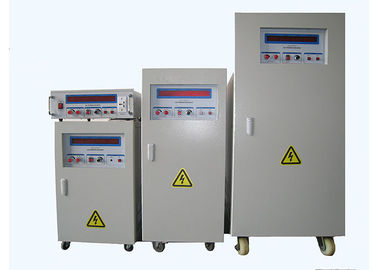 China 50HZ / 60HZ / 400HZ Variable Voltage / Frequency Converter 30KVA distributor