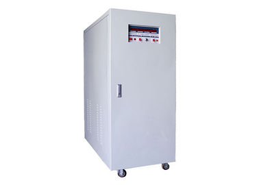 China IGBT / PWM 380V 80 KVA 3 Phase Frequency Converter 60hz To 400hz For FQC Testing distributor
