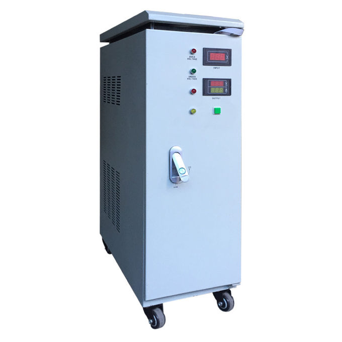 20KVA SVC IP20 Indoor Single Phase AC Power Stabilizer 110V / 220V 50Hz / 60Hz