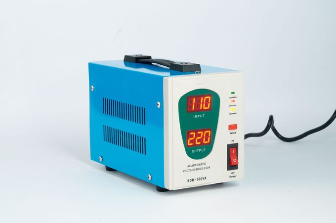 super low input voltage 1kva relay type control LED display voltage stabilizer