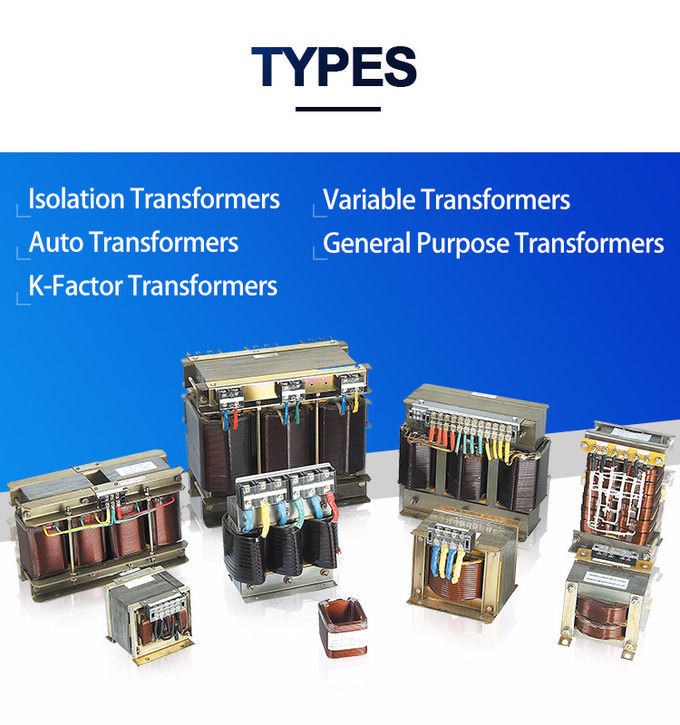 Single And Three Phase Dry Type Transformer 1-1000kva Copper Alumnium